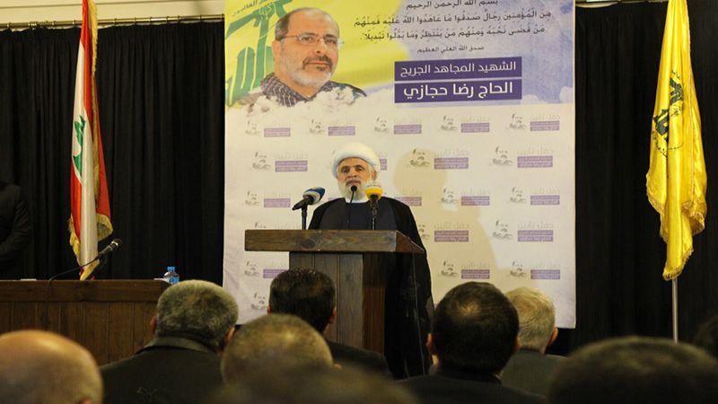 "Photo of حزب الله:  بذلنا و""أمل"" جهوداً كبيرة  لمنع الانجرار إلى الفتنة"