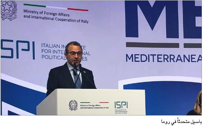 Photo of باسيل في مؤتمر  روما: الفوضى في لبنان ستكون خراباً للبلد وتطرفاً للخارج