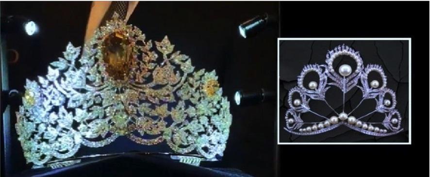 Photo of لبنان يتوّج ملكة جمال الكون  بتاج مرصّع بـ 1770 قطعة ماس