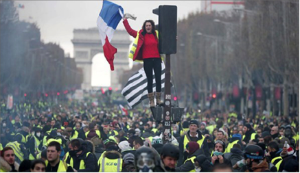 Photo of آلاف المتظاهرين في باريس..