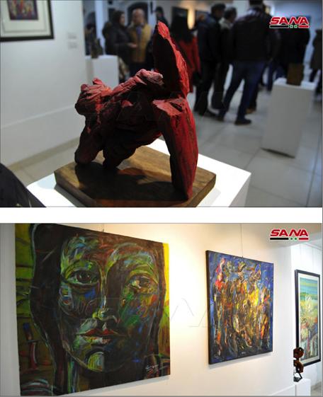 Photo of معرض جماعيّ بعنوان «ذاكرة الإبداع.. سورية»  في صالة الحكميّة للفنون في اللاذقيّة…