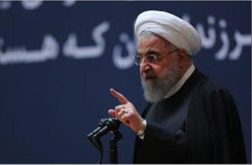 Photo of طهران تعتبر هدف الاضطرابات الأخيرة تحجيم الثورة  روحاني: الضغوط الأميركية ضد إيران غير مستدامة