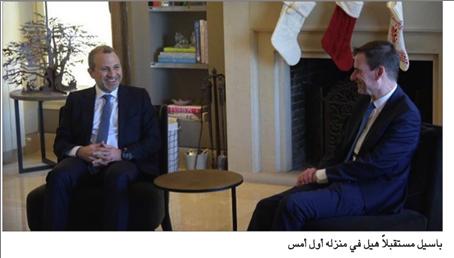 Photo of هيل تابع محادثاته في بيروت