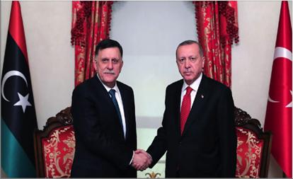 Photo of السراج وأردوغان يبحثان التعاون الأمني في إسطنبول  والسيسي يمتنع عن التدخل المباشر في ليبيا