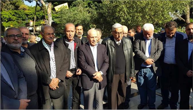 """Photo of """"القومي"""" شارك """"الشعبية"""" إحياء الذكرى الـ 52 لانطلاقتها بزيارة أضرحة الشهداء هيثم عبدو: لا أحد في العالم يستطيع انتزاع الحق في المقاومة من الشعب الفلسطيني"""
