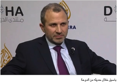 Photo of عون دعا أمير قطر لزيارة لبنان باسيل من الدوحة: نسعى لتكوين حكومة إصلاحية