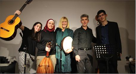 Photo of أمسية موسيقيّة عربية في فيينا لإنسانية الكون… اندماج حضارات وتلاقٍ فنّي