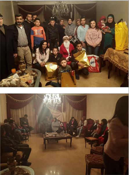 Photo of مؤسسة رعاية أسر الشهداء وذوي الاحتياجات الخاصة في «القومي»  توزّع هدايا على أبناء شهداء مجزرة حلبا في عكار