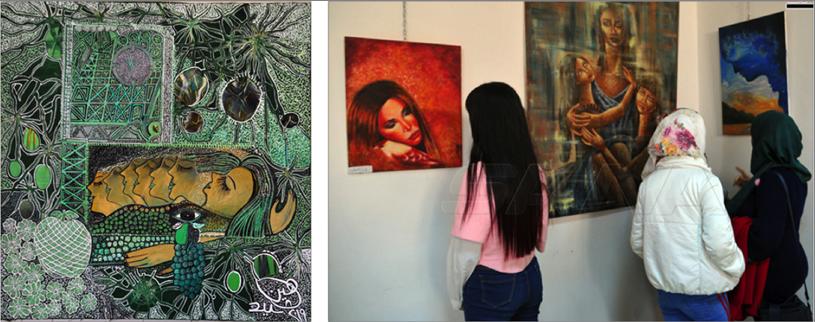 Photo of «نجوم وطن» معرض فنّ تشكيلي في دار الأسد… نتاج مواهب عديدة