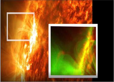 Photo of انفجار مغناطيسي على الشمس من نوع جديد