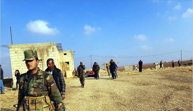 Photo of الجيش السوري يعزّز انتشاره  في ريف الحسكة الشمالي
