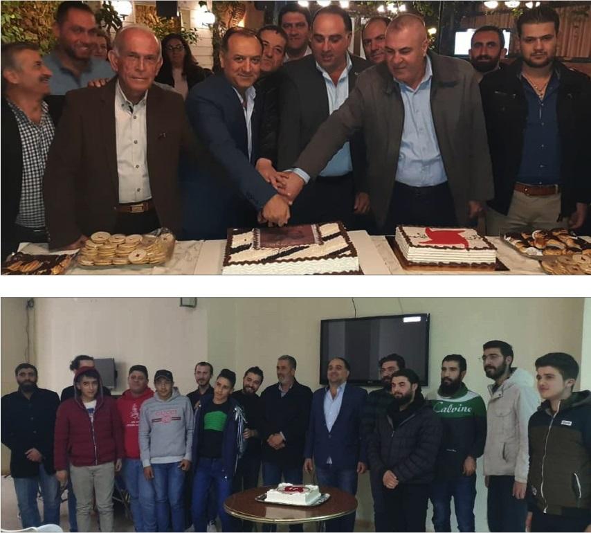 Photo of احتفالات محلية لمديريات صيدنايا وتلفيتا والقطيفة التابعة لمنفذية القلمون بمناسبة عيد التأسيس