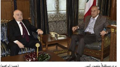 Photo of بري عرض الأوضاع مع منصور  وأرجأ جلسة مناقشة الموازنة
