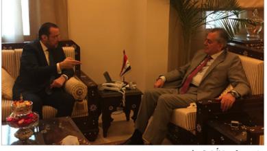Photo of تقي الدين زار علي عبد الكريم: لتفعيل العلاقات اللبنانية السورية