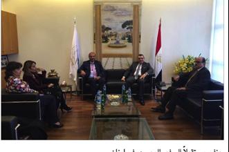 Photo of السفير المصري في لبنان يزور مقرّ اتحاد الغرف العربية