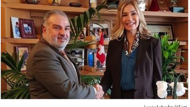 Photo of عميد الخارجية في «القومي» التقى سفيرة سويسرا في لبنان
