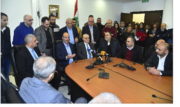 Photo of تسليم وتسلّم بين الوزراء السابقين والجدد  في الداخلية والإعلام والرياضة والعدل