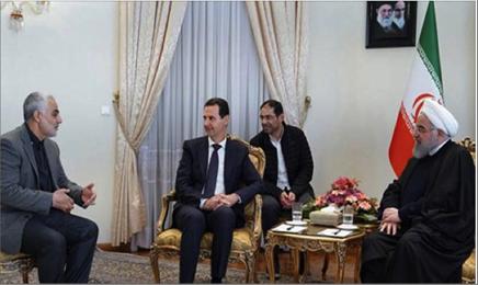 Photo of الأسد يبرق للقيادة الإيرانية بعد استشهاد الجنرال:  سيبقى سليماني خالداً في وجدان الشعب السوري