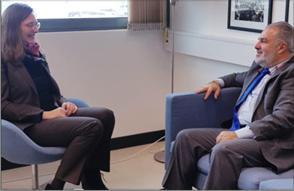 Photo of عميد الخارجيّة في «القومي» التقى سفيرة الدنمارك في لبنان وسورية والأردن