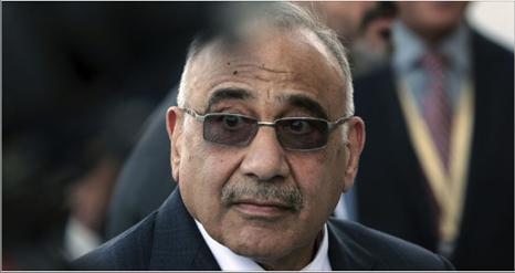 Photo of عبد المهدي للبرلمان العراقي:  أوصي بإنهاء تمركز القوات الأجنبية