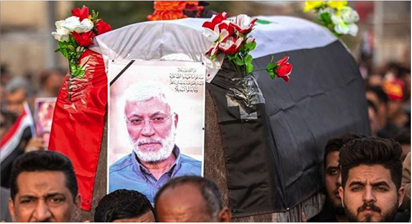 Photo of وصول جثمان الشهيد المهندس، إلى النجف بعدما شيّعه عشرات الآلاف في مدينة البصرة عبد المهدي: سنتشاور لتنفيذ قرار انسحاب القوات الأجنبية