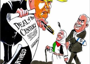 Photo of كيف عبّر رسامو الكاريكاتير  عن رفضهم لـ «صفقة القرن»؟