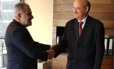 Photo of عميد الخارجية في «القومي» التقى الوزير المفوض ـ القائم بأعمال سفارة النمسا في دمشق