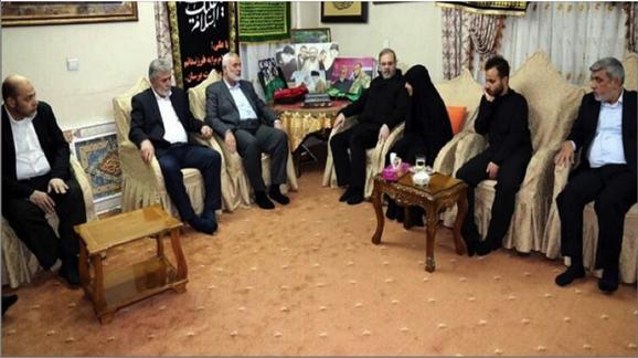 Photo of هنيّة على رأس وفد «حماس» للتعزية بالشهيد: سليماني ضحّى من أجل فلسطين وهو شهيد القدس