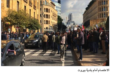 Photo of تراشق بالحجارة بين تظاهرتين في بيروت وإشكال داخل مصرف 14 جريحاً للجيش في البداوي واعتصامات في المناطق احتجاجاً على التقنين