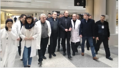 Photo of وزير الصحة اطّلع في المطار على إجراءات  منع انتقال فيروس كورونا: لا داعيَ للهلع