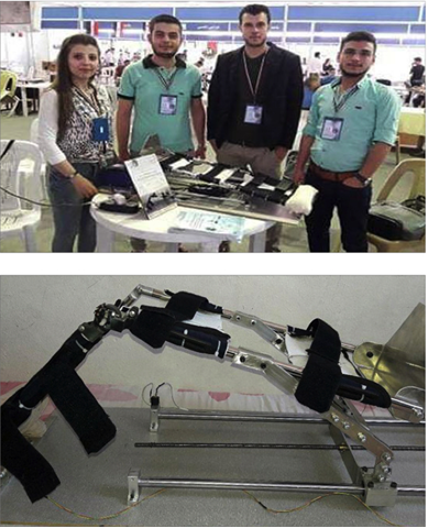 Photo of تصميم جهاز معالجة فيزيائية  لمفصل الركبة من طلاب جامعة البعث