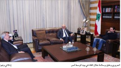 Photo of عقد اجتماعاً مالياً والتقى زاسيبكين وكوبيتش الحريري: ليحاولوا إقالة عثمان «شوحبتين أنا؟»