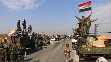 Photo of الجيش السوريّ يستعيد السيطرة على مدينة معرّة النعمان كبرى مدن ريف إدلب الجنوبيّ..  لافروف يدعو إلى ضرورة «استسلام الإرهابيّين» في إدلب