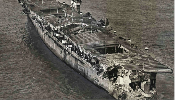 Photo of ظهور حطام سفينة حربية بعد غرقها منذ 100 عام واختفاؤه بشكل مريب.