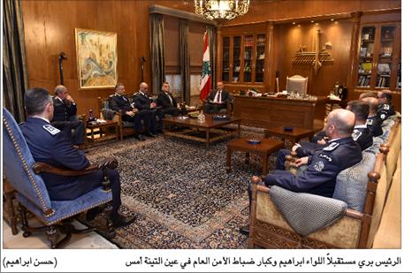 Photo of رئيس المجلس استقبل ديوان المحاسبة والأمن العام