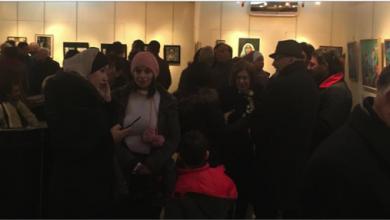 Photo of «اللوحة الصغيرة»…معرض فنّي جماعي لتشكيلّيين سوريين وفلسطينين