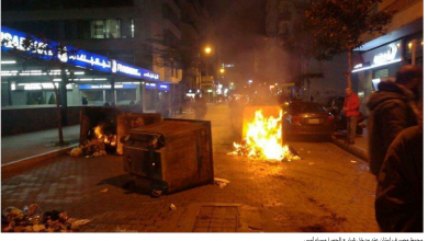 Photo of قطع واسع للطرق في العاصمة والمناطق  ومواجهات مع القوى الأمنية أوقعت إصابات