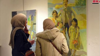 Photo of معرضٌ تشكيليٌ لسليمان أبو سعدة… رؤية منفتحة للحياة بصورة واقعية