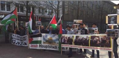 Photo of «فلسطينيّو الخارج» يقودون حملة دوليّة للتصدّي لصفقة القرن وقفة احتجاجيّة في برلين ضد جرائم الاحتلال في غزة