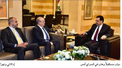 Photo of دياب ترأس الاجتماع الأخير للجنة البيان ووقّع الموازنة والتقى وهّاب وسلامة