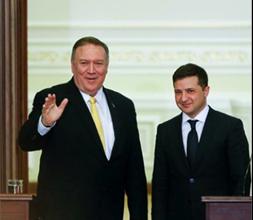 Photo of بومبيو يؤكد دعم بلاده لأوكرانيا وزيلينسكي يأمل بدور أكثر فاعليّة..
