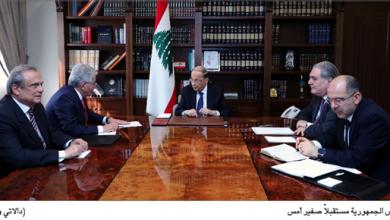 Photo of رئيس الجمهورية عرض الأوضاع الاقتصادية مع صفير