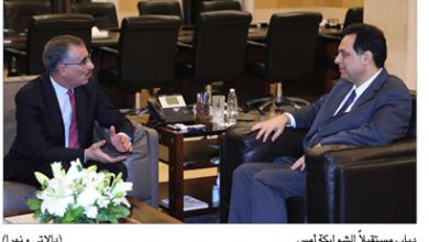 Photo of دياب التقى سفير كوريا والشوابكة وعثمان