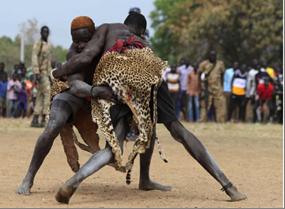 Photo of تقاتل رياضيّ لأجل السلام في جنوب السودان المدمّر بالحرب