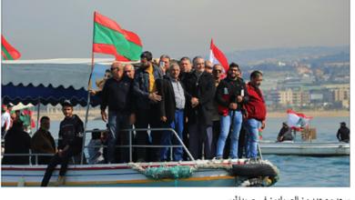 Photo of سعد في المسيرة البحرية للصيادين: نقف مع الشباب لبناء دولة عادلة
