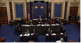 """Photo of الشيوخ الأميركي يحدّ من """"صلاحيات"""" الحرب الممنوحة لترامب ضد إيران"""