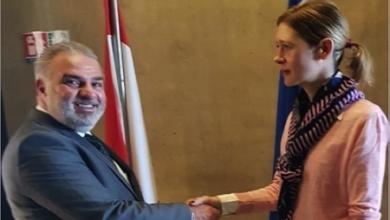 Photo of عميد الخارجية في «القومي» التقى نائبة رئيس بعثة الاتحاد الأوروبي