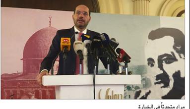 Photo of حسن مراد: لبنان بحاجة لثورة حقيقية على التبعية والمذهبية والطائفية والفساد