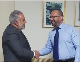 Photo of عميد الخارجية في «القومي» التقى سفير كوبا في لبنان