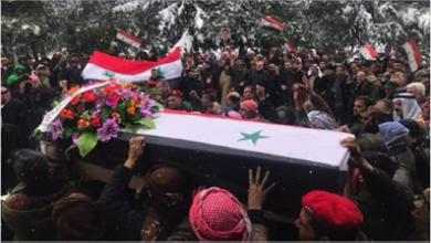 Photo of تشييع الشهيد خالد المحمد الذي ارتقىبرصاص الاحتلال الأميركيّ في القامشلي